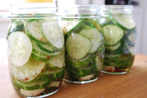 pickles are ready to cool